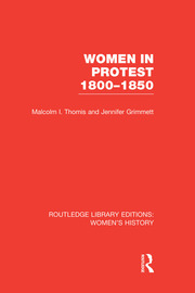 Women in Protest 1800-1850