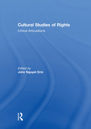 Cultural Studies Rights Erni SOCIETY - 1st Edition book cover