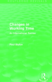Changes in Working Time (Routledge Revivals)