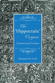 The 'Hippocratic' Corpus