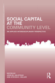 Social Capital at the Community Level: An Applied Interdisciplinary Perspective