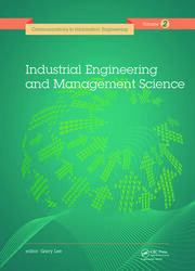 Industrial Engineering and Management Science: Proceedings of the 2014 International Conference on Industrial Engineering and Management Science (IEMS 2014), August 8-9, 2014, Hong Kong.