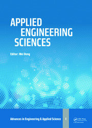 Applied Engineering Sciences: Proceedings of the 2014 AASRI International Conference on Applied Engineering Sciences, Hollywood, LA, USA