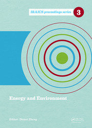Energy and Environment: Proceedings of the 2014 International Conference on Energy and Environment (ICEE 2014), June 26-27, Beijing, China