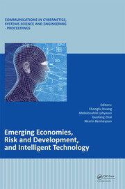 Emerging Economies, Risk and Development, and Intelligent Technology: Proceedings of the 5th International Conference on Risk Analysis and Crisis Response, June 1-3, 2015, Tangier, Morocco