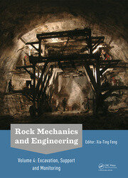 Rock Mechanics and Engineering Volume 4: Excavation, Support and Monitoring