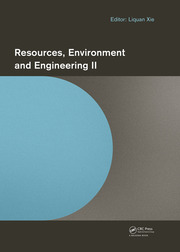 Resources, Environment and Engineering II: Proceedings of the 2nd Technical Congress on Resources, Environment and Engineering (CREE 2015, Hong Kong, 25-26 September 2015)