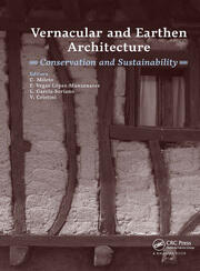 Vernacular and Earthen Architecture: Conservation and Sustainability: Proceedings of SosTierra 2017 (Valencia, Spain, 14-16 September 2017)
