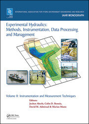 Experimental Hydraulics: Methods, Instrumentation, Data Processing and Management: Volume II: Instrumentation and Measurement Techniques
