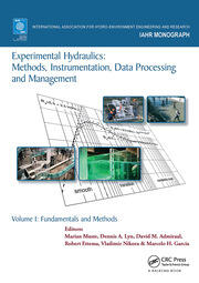 Experimental Hydraulics: Methods, Instrumentation, Data Processing and Management: Volume I: Fundamentals and Methods