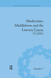 Modernism, Middlebrow and the Literary Canon: The Modern Library Series, 1917–1955