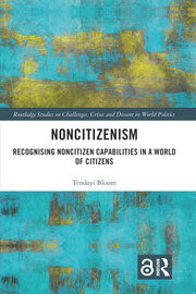 Featured Title - Noncitizenism - Bloom - 1st Edition book cover