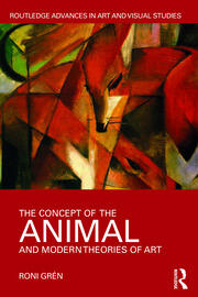 Featured Title - The Concept of the Animal and Modern Theories of Art; Gren - 1st Edition book cover