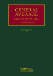 General Average: Law and Practice