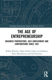 The Age of Entrepreneurship: Business Proprietors, Self-employment and Corporations Since 1851