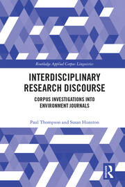 Interdisciplinary Research Discourse: Corpus Investigations into Environment Journals