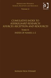 Volume 21, Tome II: Cumulative Index: Index of Names, L-Z