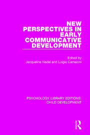 New Perspectives in Early Communicative Development