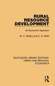 Rural Resource Development: An Economic Approach