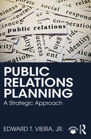Featured Title - Public Relations Planning: Vieira - 1st Edition book cover