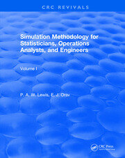 Simulation Methodology for Statisticians, Operations Analysts, and Engineers (1988)