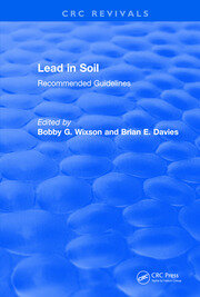 Lead in Soil: Recommended Guidelines