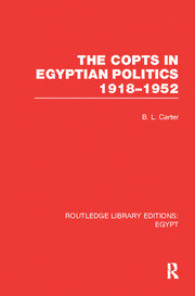 The Copts in Egyptian Politics (RLE Egypt
