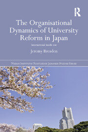 The Organisational Dynamics of University Reform in Japan: International Inside Out
