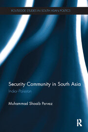 Security Community in South Asia: India - Pakistan