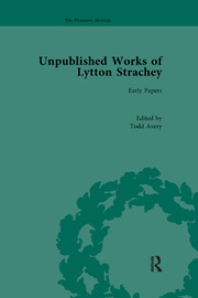 Unpublished Works of Lytton Strachey