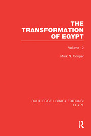 The Transformation of Egypt (RLE Egypt)
