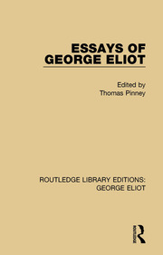 Essays of George Eliot