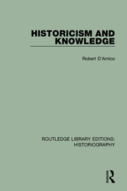 Historicism and Knowledge