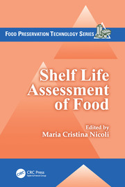 Shelf Life Assessment of Food