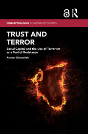 Trust and Terror (Open Access): Social Capital and the Use of Terrorism as a Tool of Resistance