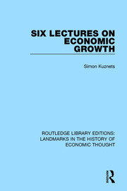 Six Lectures on Economic Growth