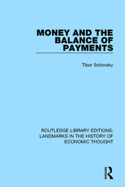 Money and the Balance of Payments