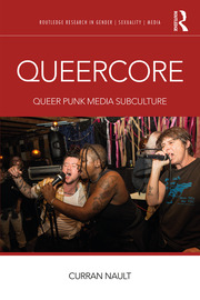 Featured Title - Queercore; Nault - 1st Edition book cover