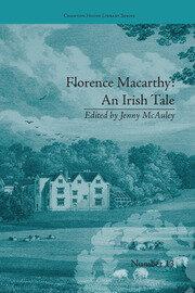 Florence Macarthy: An Irish Tale: by Sydney Owenson