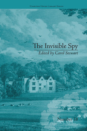 The Invisible Spy: by Eliza Haywood
