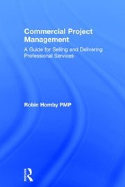Featured Title - Commercial Project Management - Robin Hornby - 1st Edition book cover