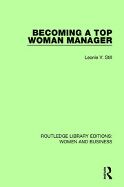 Becoming a Top Woman Manager