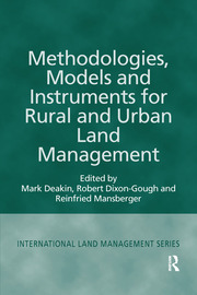 Methodologies, Models and Instruments for Rural and Urban Land Management