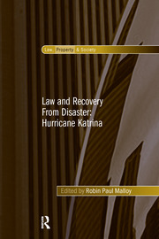 Law and Recovery From Disaster: Hurricane Katrina