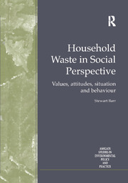 Household Waste in Social Perspective: Values, Attitudes, Situation and Behaviour