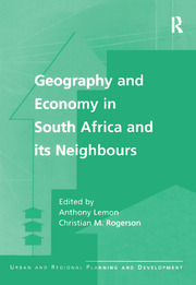 Geography and Economy in South Africa and its Neighbours