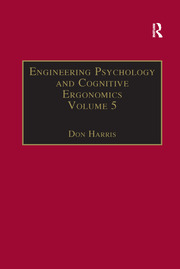 Engineering Psychology and Cognitive Ergonomics: Volume 5: Aerospace and Transportation Systems