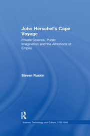 John Herschel's Cape Voyage: Private Science, Public Imagination and the Ambitions of Empire