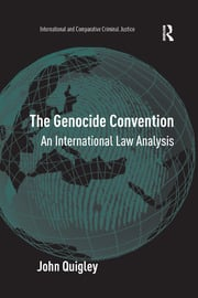 The Genocide Convention: An International Law Analysis