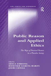 Public Reason and Applied Ethics: The Ways of Practical Reason in a Pluralist Society